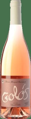 11,95 € Envío gratis | Vino rosado Miquel Gelabert Golós Rosat D.O. Pla i Llevant Islas Baleares España Pinot Negro Botella 75 cl