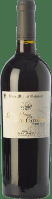 28,95 € Free Shipping | Red wine Miquel Gelabert Gran Vinya Son Caules Crianza D.O. Pla i Llevant Balearic Islands Spain Merlot, Syrah, Cabernet Sauvignon, Callet, Mantonegro Bottle 75 cl