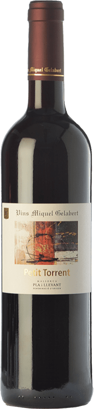 11,95 € Free Shipping | Red wine Miquel Gelabert Petit Torrent Crianza D.O. Pla i Llevant Balearic Islands Spain Merlot, Cabernet Sauvignon, Callet Bottle 75 cl