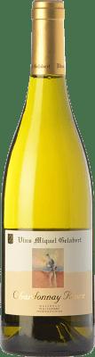 37,95 € Envoi gratuit | Vin blanc Miquel Gelabert Roure Crianza D.O. Pla i Llevant Îles Baléares Espagne Chardonnay Bouteille 75 cl