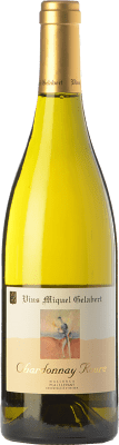 34,95 € Free Shipping | White wine Miquel Gelabert Roure Crianza D.O. Pla i Llevant Balearic Islands Spain Chardonnay Bottle 75 cl