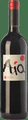 24,95 € Kostenloser Versand | Rotwein Miquel Oliver Aía Crianza D.O. Pla i Llevant Balearen Spanien Merlot Flasche 75 cl