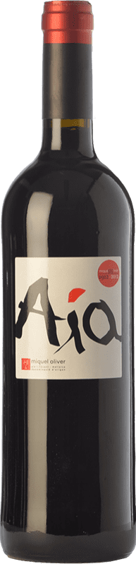 24,95 € Free Shipping | Red wine Miquel Oliver Aía Crianza D.O. Pla i Llevant Balearic Islands Spain Merlot Bottle 75 cl