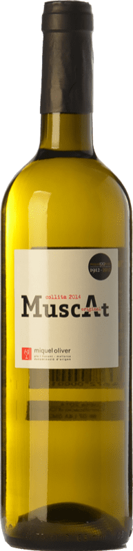 14,95 € Free Shipping | White wine Miquel Oliver Original Muscat D.O. Pla i Llevant Balearic Islands Spain Muscat of Alexandria, Muscatel Small Grain Bottle 75 cl
