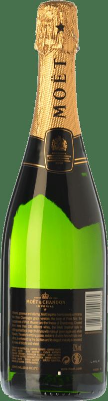 38,95 € Envoi gratuit | Blanc moussant Moët & Chandon Impérial Brut Reserva A.O.C. Champagne Champagne France Pinot Noir, Chardonnay, Pinot Meunier Bouteille 75 cl