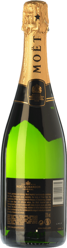 38,95 € Free Shipping   White sparkling Moët & Chandon Impérial Brut Reserva A.O.C. Champagne Champagne France Pinot Black, Chardonnay, Pinot Meunier Bottle 75 cl