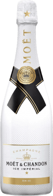 104,95 € Free Shipping | White sparkling Moët & Chandon Ice Impérial A.O.C. Champagne Champagne France Pinot Black, Chardonnay, Pinot Meunier Magnum Bottle 1,5 L | Thousands of wine lovers trust us to get the best price guarantee, free shipping always and hassle-free shopping and returns.