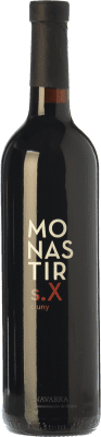 12,95 € Free Shipping | Red wine Monastir S. X Cluny Crianza D.O. Navarra Navarre Spain Tempranillo, Merlot, Cabernet Sauvignon Bottle 75 cl