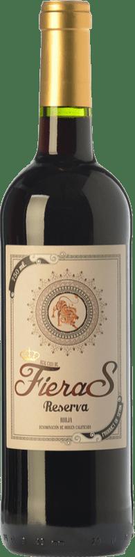8,95 € Free Shipping | Red wine Mondo Lirondo Casa de Fieras Reserva D.O.Ca. Rioja The Rioja Spain Tempranillo, Grenache, Graciano Bottle 75 cl