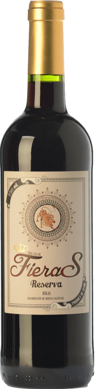 8,95 € Envoi gratuit | Vin rouge Mondo Lirondo Casa de Fieras Reserva D.O.Ca. Rioja La Rioja Espagne Tempranillo, Grenache, Graciano Bouteille 75 cl