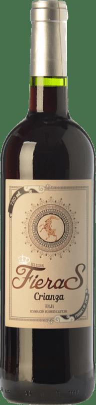 7,95 € Envoi gratuit | Vin rouge Mondo Lirondo Casa de Fieras Crianza D.O.Ca. Rioja La Rioja Espagne Tempranillo, Grenache Bouteille 75 cl