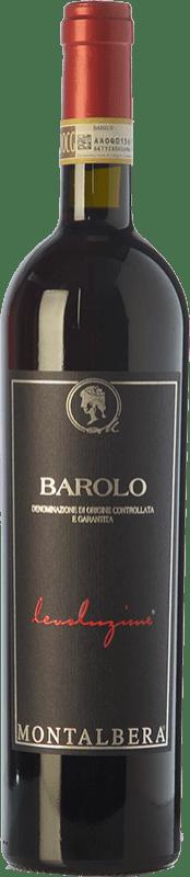 25,95 € Free Shipping | Red wine Montalbera Levoluzione D.O.C.G. Barolo Piemonte Italy Nebbiolo Bottle 75 cl
