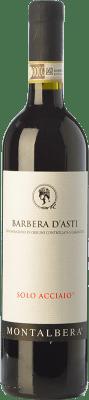 8,95 € Envío gratis   Vino tinto Montalbera Solo Acciaio D.O.C. Barbera d'Asti Piemonte Italia Barbera Botella 75 cl