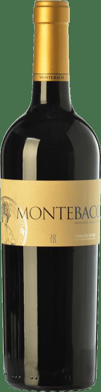 23,95 € Free Shipping | Red wine Montebaco Vendimia Seleccionada Crianza D.O. Ribera del Duero Castilla y León Spain Tempranillo, Merlot Bottle 75 cl