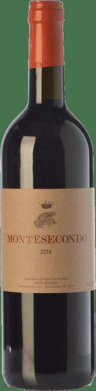 19,95 € Free Shipping | Red wine Montesecondo I.G.T. Toscana Tuscany Italy Sangiovese, Canaiolo Bottle 75 cl