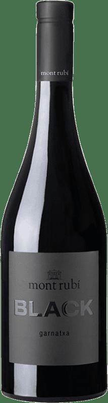 11,95 € Free Shipping | Red wine Mont-Rubí Black Joven D.O. Penedès Catalonia Spain Grenache Bottle 75 cl