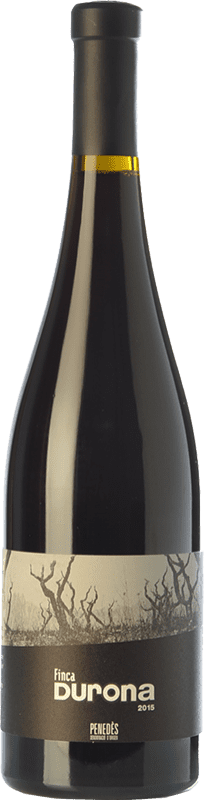 15,95 € Free Shipping | Red wine Mont-Rubí Finca Durona Crianza D.O. Penedès Catalonia Spain Merlot, Syrah, Grenache, Carignan, Sumoll Bottle 75 cl