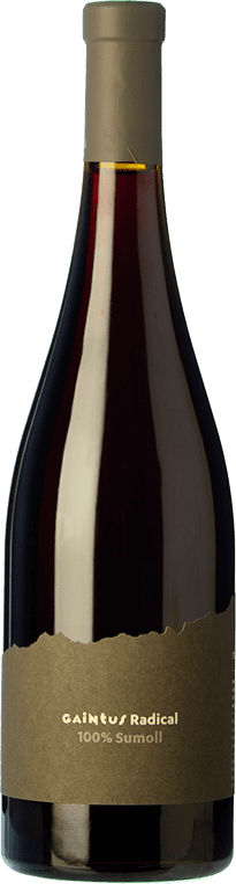 15,95 € Free Shipping | Red wine Mont-Rubí Gaintus Radical Joven D.O. Penedès Catalonia Spain Sumoll Bottle 75 cl