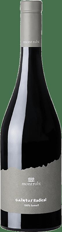 15,95 € Envoi gratuit | Vin rouge Mont-Rubí Gaintus Radical Joven D.O. Penedès Catalogne Espagne Sumoll Bouteille 75 cl