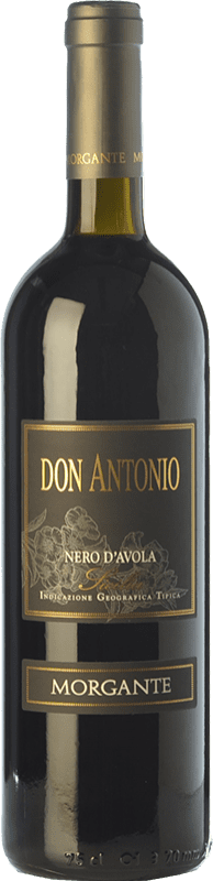 39,95 € Free Shipping | Red wine Morgante Don Antonio I.G.T. Terre Siciliane Sicily Italy Nero d'Avola Bottle 75 cl