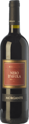 9,95 € Free Shipping | Red wine Morgante I.G.T. Terre Siciliane Sicily Italy Nero d'Avola Bottle 75 cl