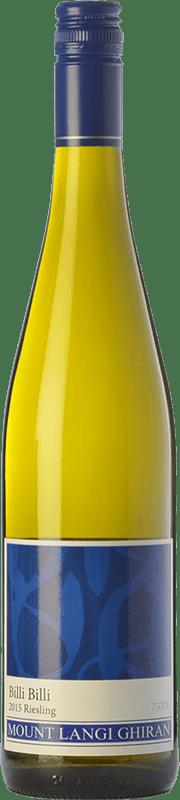 11,95 € Free Shipping | White wine Mount Langi Ghiran Billi Billi I.G. Grampians Grampians Australia Riesling Bottle 75 cl