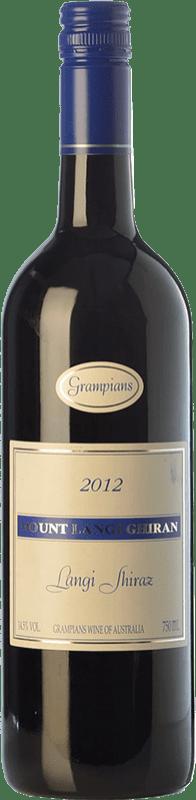82,95 € Free Shipping | Red wine Mount Langi Ghiran Shiraz Crianza I.G. Grampians Grampians Australia Syrah Bottle 75 cl