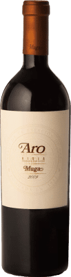 173,95 € Free Shipping | Red wine Muga Aro Crianza 2010 D.O.Ca. Rioja The Rioja Spain Tempranillo, Graciano Bottle 75 cl
