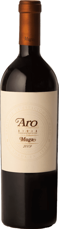 173,95 € Free Shipping | Red wine Muga Aro Crianza 2010 D.O.Ca. Rioja The Rioja Spain Tempranillo, Graciano Bottle 75 cl