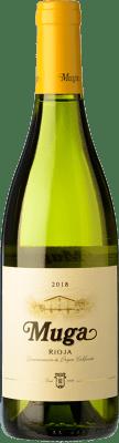 11,95 € Free Shipping | White wine Muga Fermentado en Barrica Crianza D.O.Ca. Rioja The Rioja Spain Viura, Malvasía Bottle 75 cl