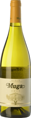 25,95 € Envoi gratuit | Vin blanc Muga Fermentado en Barrica Crianza D.O.Ca. Rioja La Rioja Espagne Viura, Malvasía Bouteille Magnum 1,5 L