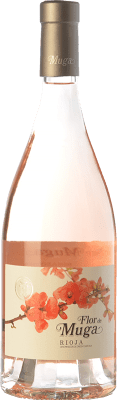 22,95 € Envio grátis | Vinho rosé Muga Flor D.O.Ca. Rioja La Rioja Espanha Grenache Garrafa 75 cl. | Milhares de amantes do vinho confiam em nós com a garantia do melhor preço, envio sempre grátis e compras e devoluções sem complicações.