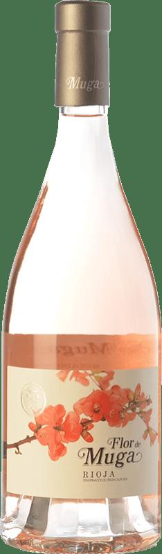 17,95 € Envío gratis | Vino rosado Muga Flor D.O.Ca. Rioja La Rioja España Garnacha Botella 75 cl