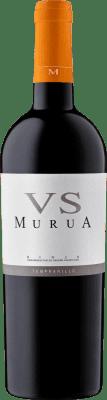 15,95 € Kostenloser Versand | Rotwein Murua Vendimia Seleccionada Crianza D.O.Ca. Rioja La Rioja Spanien Tempranillo, Graciano, Mazuelo Flasche 75 cl