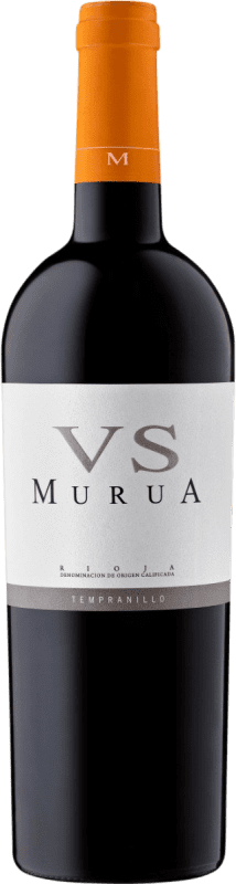 15,95 € Free Shipping | Red wine Murua Vendimia Seleccionada Crianza D.O.Ca. Rioja The Rioja Spain Tempranillo, Graciano, Mazuelo Bottle 75 cl