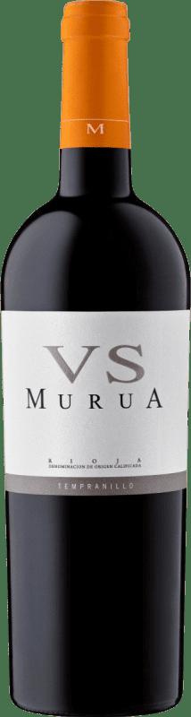 15,95 € Envío gratis   Vino tinto Murua Vendimia Seleccionada Crianza D.O.Ca. Rioja La Rioja España Tempranillo, Graciano, Mazuelo Botella 75 cl