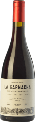 12,95 € Free Shipping | Red wine Mustiguillo La Garnacha Joven D.O.P. Vino de Pago El Terrerazo Valencian Community Spain Grenache Bottle 75 cl