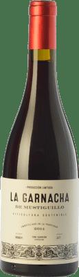 19,95 € Envío gratis | Vino tinto Mustiguillo La Garnacha Joven D.O.P. Vino de Pago El Terrerazo Comunidad Valenciana España Garnacha Botella 75 cl