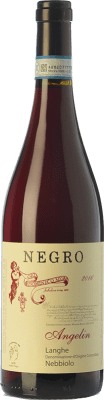 19,95 € Free Shipping | Red wine Negro Angelo Angelin D.O.C. Langhe Piemonte Italy Nebbiolo Bottle 75 cl