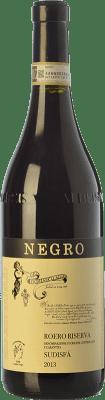 34,95 € Free Shipping | Red wine Negro Angelo Riserva Sudisfà Reserva D.O.C.G. Roero Piemonte Italy Nebbiolo Bottle 75 cl