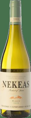 5,95 € Free Shipping | White wine Nekeas Viura-Chardonnay Joven D.O. Navarra Navarre Spain Viura, Chardonnay Bottle 75 cl