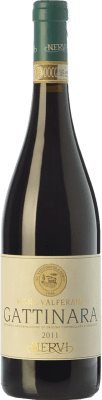 82,95 € Free Shipping | Red wine Nervi Valferana D.O.C.G. Gattinara Piemonte Italy Nebbiolo Bottle 75 cl