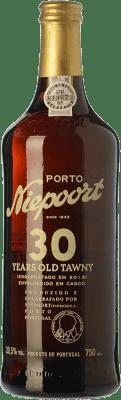149,95 € Free Shipping | Fortified wine Niepoort 30 Years Old Tawny I.G. Porto Porto Portugal Touriga Franca, Touriga Nacional, Tinta Roriz, Tinta Amarela, Tinta Cão, Tinta Francisca Bottle 75 cl
