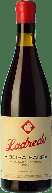 42,95 € Free Shipping | Red wine Niepoort Ladredo Joven D.O. Ribeira Sacra Galicia Spain Mencía, Grenache Tintorera Bottle 75 cl