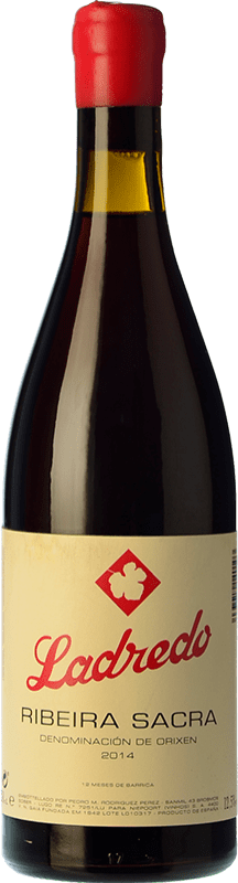 42,95 € Envío gratis | Vino tinto Niepoort Ladredo Joven D.O. Ribeira Sacra Galicia España Mencía, Garnacha Tintorera Botella 75 cl