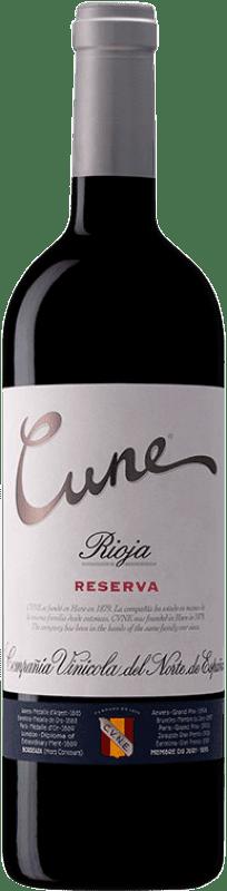 11,95 € Envoi gratuit   Vin rouge Norte de España - CVNE Cune Reserva D.O.Ca. Rioja La Rioja Espagne Tempranillo, Grenache, Graciano, Mazuelo Bouteille 75 cl