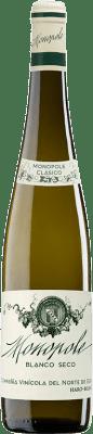 22,95 € Envío gratis | Vino blanco Norte de España - CVNE Monopole Clásico Crianza D.O.Ca. Rioja La Rioja España Viura, Palomino Fino Botella 75 cl
