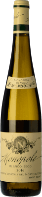 22,95 € Kostenloser Versand | Weißwein Norte de España - CVNE Monopole Clásico Crianza D.O.Ca. Rioja La Rioja Spanien Viura, Palomino Fino Flasche 75 cl