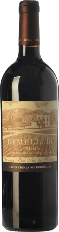 52,95 € Envoi gratuit   Vin rouge Ntra. Sra de Remelluri Colección Jaime Rodríguez Crianza 2004 D.O.Ca. Rioja La Rioja Espagne Tempranillo, Grenache Bouteille 75 cl