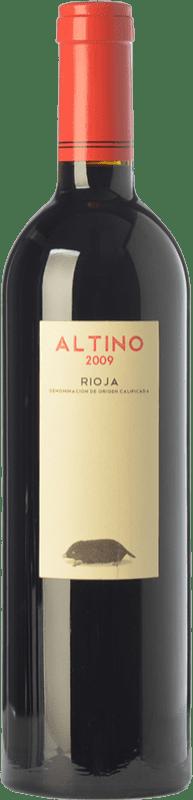 16,95 € Free Shipping | Red wine Obalo Altino Joven D.O.Ca. Rioja The Rioja Spain Tempranillo Bottle 75 cl